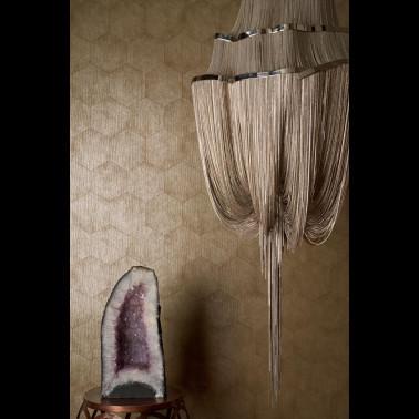 Tela para Cortinas a medida con estilo Texturas modelo ORO