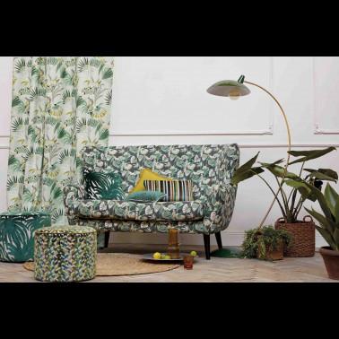 Tela para Cortinas con estilo Botánico modelo Cactus