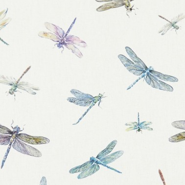 Tela para Cortinas con estilo Animales modelo Dragonflies