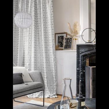 Funda de Almohada ASTOR de Designers Guild Color Blanco-Gris