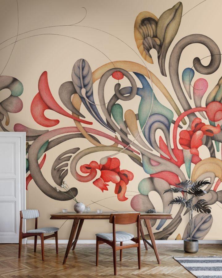 Mural Vinilo Romance