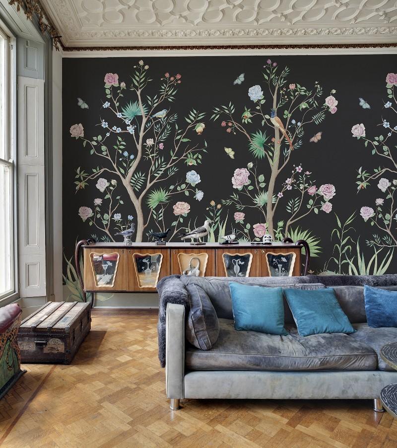 Mural vinilo Peonies